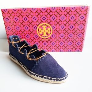 Tory Burch Sonoma Hille Espadrille size 5